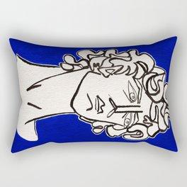 David Michelangelo statue Rectangular Pillow