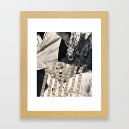 COLLAGE 11 Framed Art Print