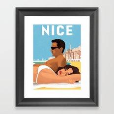 So nice in Nice Framed Art Print