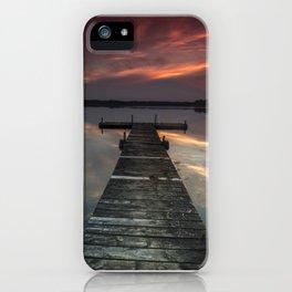 Moon Lake iPhone Case