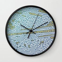 Ocean Waves and Golden Sands Wall Clock