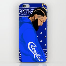 Nipsey iPhone Skin