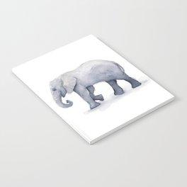 Elephant Watercolor Notebook