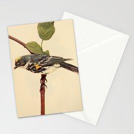 Neltje Blanchan - Bird Neighbours (1903) - Myrtle Warbler Stationery Cards