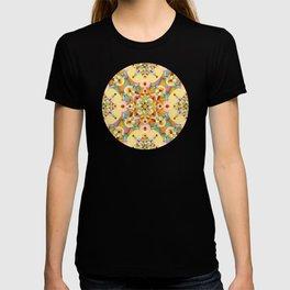 Pastel Mandala Rainbow T-shirt