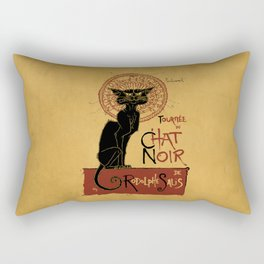 Le Chat Noir Rectangular Pillow