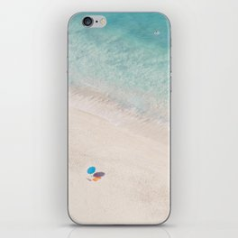 The Aqua Umbrella iPhone Skin