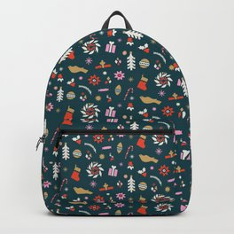 Holiday Pop Green Backpack