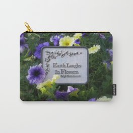 Earth's Laughter Carry-All Pouch