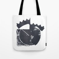 industrial Tote Bags featuring Industrial by Lucas del Río