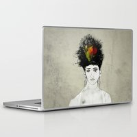 transformer Laptop & iPad Skins featuring I'm not what you see by gwenola de muralt