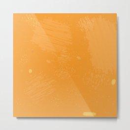 Tortured Orange Metal Print