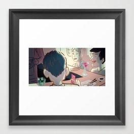 Sushi Serendipity Framed Art Print