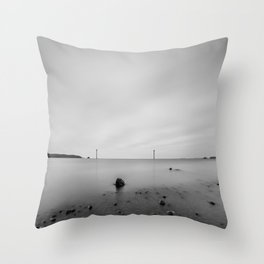 The Limestone Cableway Throw Pillow