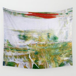 RED HORIZON Wall Tapestry