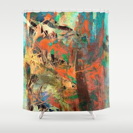 Huáscar and Atahualpa Shower Curtain