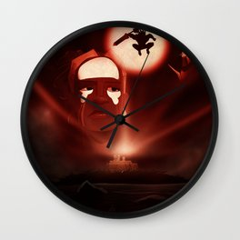 """Hearts of Darkness"" - Dungeons & Doritos Wall Clock"