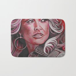 Dolly Parton in Pink Bath Mat