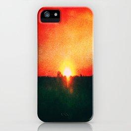 Heated Skyline iPhone Case