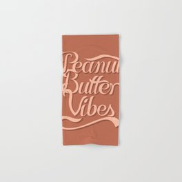 Peanut Butter Vibes Hand & Bath Towel