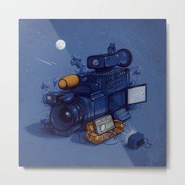 Movie Break Metal Print