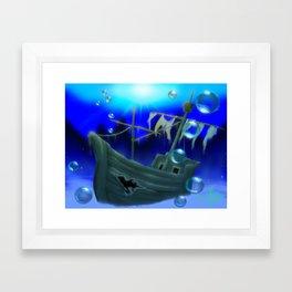 Jolly Roger Bay (US) Framed Art Print