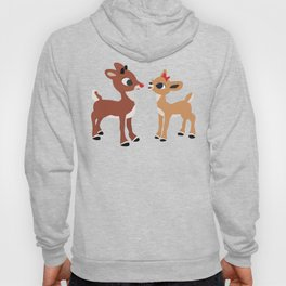 Classic Rudolph and Clarice Hoody