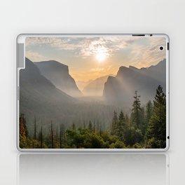 Morning Yosemite Landscape Laptop & iPad Skin