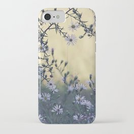 Wild Asters Botanical iPhone Case