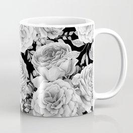 ROSES ON DARK BACKGROUND Coffee Mug