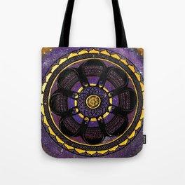 Galaxy Mandala Tote Bag
