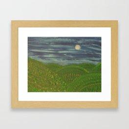 Pennsylvania Hills Framed Art Print