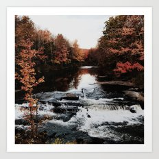 Kennebunk Road Art Print