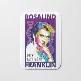 Rosalind Franklin Bath Mat
