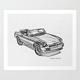 american car art prints   Society6