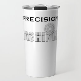 Precision Machining Travel Mug