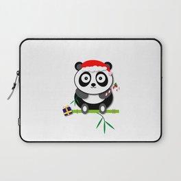 Holiday Panda Laptop Sleeve