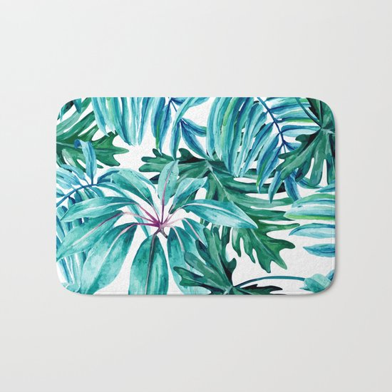 Tropical jungle II Bath Mat