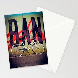 Bike and graffiti  Stationery Cards