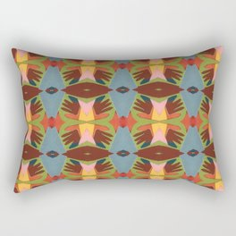 show of hands Rectangular Pillow