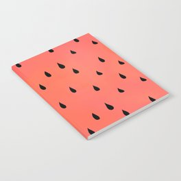 Watermelon rain Notebook