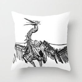 a marvelous creature Throw Pillow