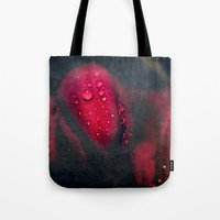 moulin rouge Tote Bags featuring Rouge by Anne Seltmann