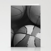 basketball Stationery Cards featuring Basketball by Sary and Saff