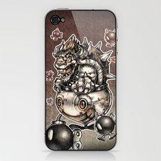 BOMBS AWAY BOWSER iPhone & iPod Skin