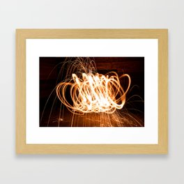Fire Starter Framed Art Print