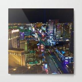 Vegas Strip 2 Metal Print