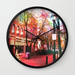Salem Lights Wall Clock