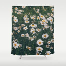 Daisy, let it go.... Shower Curtain