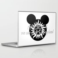 supernatural Laptop & iPad Skins featuring Supernatural by kltj11